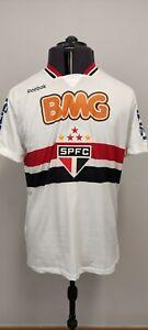 Reebok Sao Paulo FC Brazil Mens Football Shirt 2011 Home Kit #9 LUIS FABIANO L