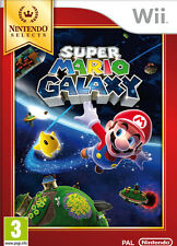 Super Mario Galaxy Select Nintendo WII IT IMPORT NINTENDO