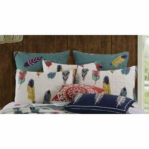 Greenland Dream Catcher Euro Pillow Sham 26x26 Multi