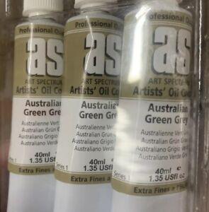 Art Spectrum Oil Paints Australian Green Grey 40ml