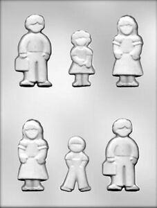 People Family Group Candy Mold from CK #13682 - NEW