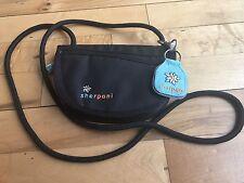 NWOT Sherpani ZOE Black Shoulder Cross Body Wallet Clutch Bag Tiny CUTE Purse