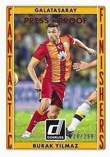 2015 Donruss Soccer 'Fantastic Finishers' #3 Burak Yilmaz Galatasaray 128/299