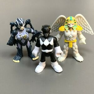 3X Imagienxt Power Rangers Squat & King Sphinx & Black Rangers Mighty Morphin