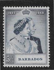 bc-1 Barbados (until 1966) Barbados 1956 60c Scott # 245 Vf-xf Mint Lightly Hinged Og British Colonies & Territories