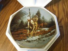 """Mystic Warriors 8"""" Plate Collection Windrider C.O.A. & foam packing"""