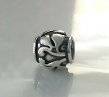 NEW AUTHENTIC PANDORA Charm Bead 790493 Floret Sterling Silver $35