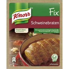 9 x Knorr Fix Roast Pork (Schweinebraten) Sauce New from Germany free Shipping !