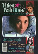 VIDEO WATCHDOG Magazine #140 - Hazel Court - Meiko Kaji - 2001 - Charlie Chan