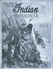 1915 INDIAN MOTORCYCLE CATALOG FOR 1915 - QUALITY REPRODUCTION