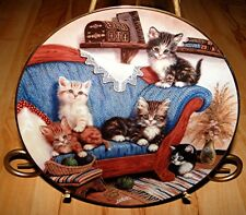 Kahla The Nicest Places German Jurgen Scholz Cat Kitten Kitty Couch Plate