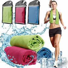 3-Pack Ice Cold Cooling Towel Quick Dry Sport Towel For Running Cycling Gym Yoga