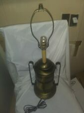VINTAGE WATER/WINE POT WITH TAP ELECTRIC BRASS TABLE LAMP