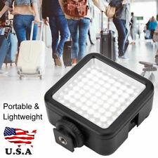 VBESTLIFE 49 LED Video Light Lamp Panel Dimmable for DSLR Camera DV Camcorder US