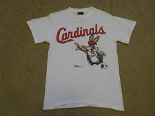 Vintage 90s STL St.Louis CARDINALS 1991 BUGS BUNNY Baseball MLB T-Shirt sz M USA