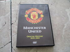 Manchester United Football Soccer Club Official History 1878-2002 DVD