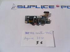 Acer Aspire 7720g pcb connecteur jack audio + nappe