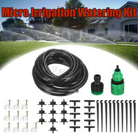 5M Micro Drip Irrigation Watering Automatic Garden Plants Greenhouse System