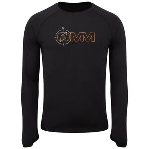 OMM Mens Trail Tee - Long Sleeve - Compass - Black