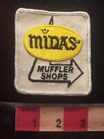 Vtg MIDAS MUFFLER SHOPS Car / Auto Jacket Patch 70WD