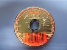 Berkley Specialist Tippet Material #T6X  2 Lb.  25 yards.  Lot of 5 spools