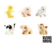 1 X Living Nature Farm Mini Buddies Soft Toys Plush Cuddle Kids Children Gifts