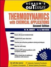 Schaums Outline of Thermodynamics With Chemical Applications 2 Rev ed Edition, ,