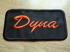 DYNA Harley Davidson WIde Glide Motorcycle Patch Factory HD Vest Jacket Hat Tie