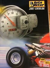 2001 AUTO METER COMPETITION INSTRUMENTS RACING CATALOG 99 Pg TACHOMETERS ETC.