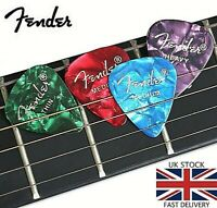 Fender Guitar Picks / Plectrums Choice Of Quantities for Acoustic Electric Bass.