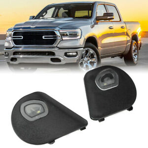 2x Right Left Mirror Puddle Lights Fit 10-20 Dodge Ram 1500 2500 3500 4500 5500