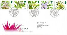 1993 Sg 1659/63 14th World Orchid Conference Glasgow First Day Cover