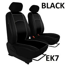 KIA CARENS 2006-2012 ECO LEATHER FRONT SEAT COVERS MADE TO MEASURE FOR CAR