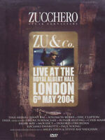 DVD Zucchero Sugar Fornaciari ZU & Co.Live At The Royal Albert Hall Mondadori