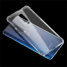 Clear Slim Soft TPU Silicone Bumper Back Case Cover For OnePlus 7 Pro