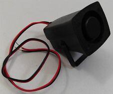 Install Bay IBSIRENM Mini Piezo Siren Car Alarm Security System Accessory 12V