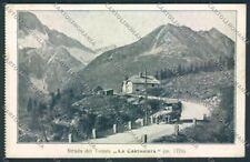 Trento Stada del Tonale auto cartolina MQ0510