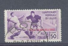 Football Used Italian Stamps