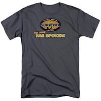 Survivor The Tribe Has Spoken Television CBS Adult Graphic Men's T-Shirt Tee