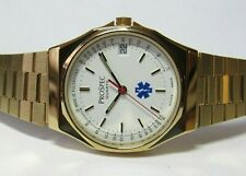 PROSPEC SWISS MADE DOCTOR'S NURSE'S WATCH BASE 15 PULSATIONS,NOS ETA/ESA 963.116