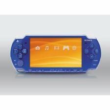 PSP 2001 Blue Slim PlayStation Portable PSP-2000 Good Portable System 6E