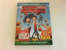 Cloudy With A Chance Of Meatballs w/Slipcover Blu-ray