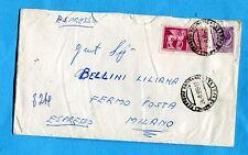 1959 EXP.CAVALLI ALATI £.75 + SIRAC. £.25 ann.NAPOLI, 29.09.59   (252459)