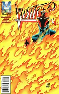 THE VISITOR  #9  (VALIANT SERIES)   VF-NM