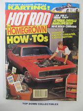 Hot Rod Magazine   June  1990    Doug MacLanders '39 Willys Overland
