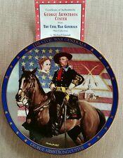 Civil War Generals George A. Custer plate Michael Gnatek Coa Free Plate Hanger