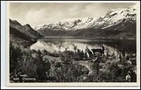 Norge Norway Norwegen Brevkort AK ~1920 ULLENSVANG Fylke Hordaland Postcard