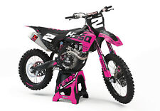 Rebound mx graphics kit to fit husqvarna TC TE FC FE all years and cc pink
