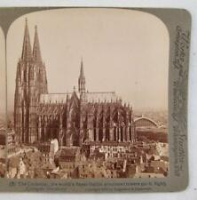 Stereoview Underwood Cathedral Worlds Finest Gothic Structure Cologne Germany O