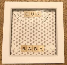 Baby Scan Photo Frame, Ideal Gift, Baby Shower, Grandparents, New Baby
